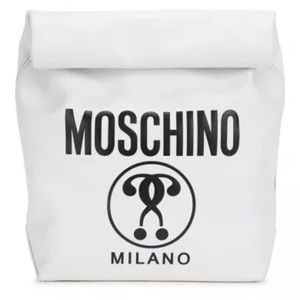 Moschino Jeremy Scott  Lunch Bag Question Mark